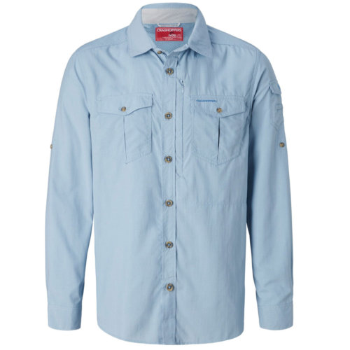 Mouse over to zoom an area or click here for Hi-Res image of CragHoppers NosiLife Adventure Long Sleeve Shirt Men's Closeout
