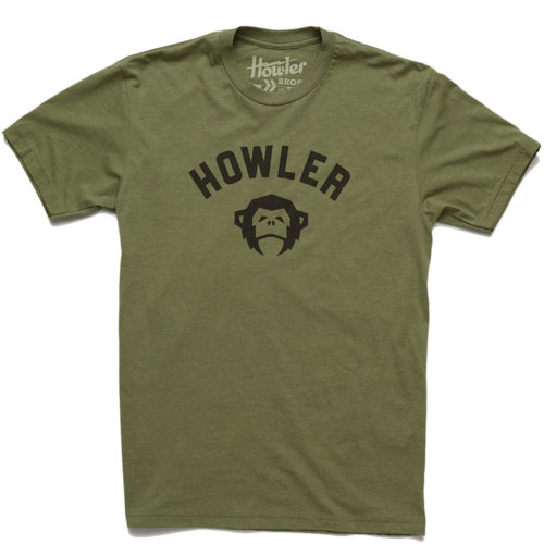 Mouse over to zoom an area or click here for Hi-Res image of Howler Bros El Mono PE Tee Shirt Men's