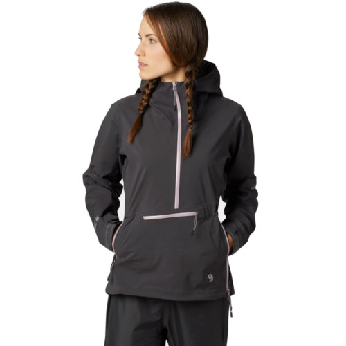 Mouse over to zoom an area or click here for Hi-Res image of Mountain Hardwear Exposure 2 Gore-Tex Paclite Stretch Pullover Women's Closeout