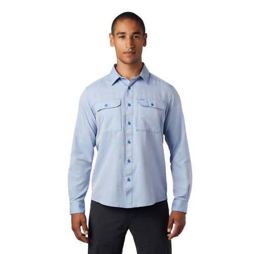 Mouse over to zoom an area or click here for Hi-Res image of Mountain Hardwear Canyon Long Sleeve Shirt Men's
