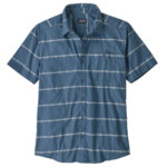 Click here to see Hemp Stripe: Pigeon Blue image
