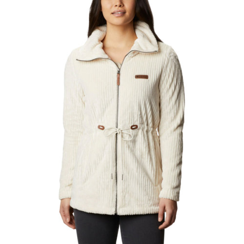 Mouse over to zoom an area or click here for Hi-Res image of Columbia Fire Side Long Full Zip Sherpa Fleece Jacket Women's Closeout