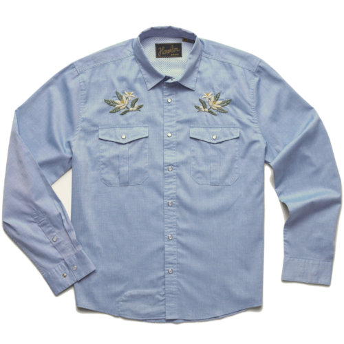 Mouse over to zoom an area or click here for Hi-Res image of Howler Bros Gaucho Snapshirt Men's