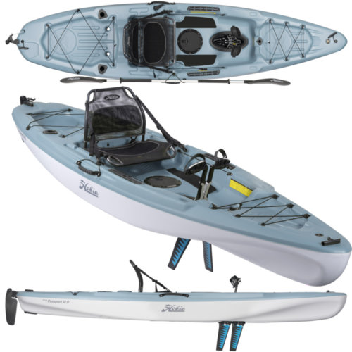 Mouse over to zoom an area or click here for Hi-Res image of Hobie Mirage Passport 12 Kayak 2020