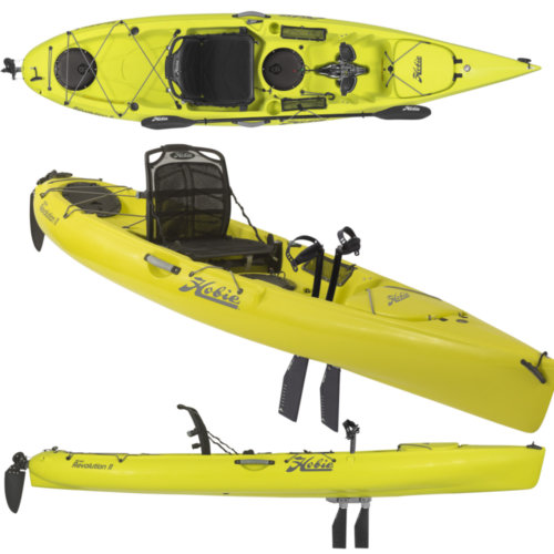 Mouse over to zoom an area or click here for Hi-Res image of Hobie Mirage Revolution 11 Kayak 2020