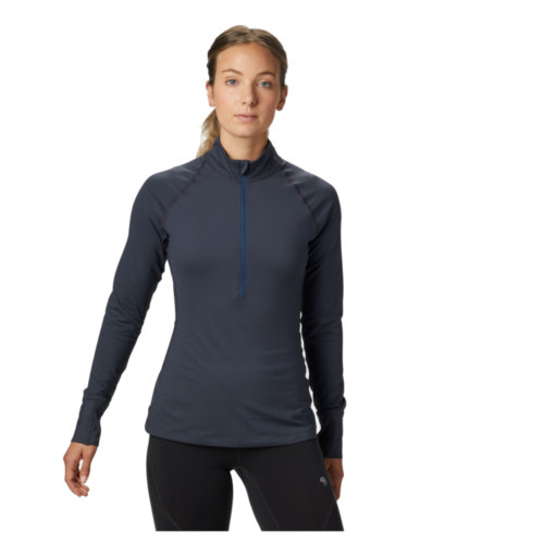 Mouse over to zoom an area or click here for Hi-Res image of Mountain Hardwear Butterlicious Long Sleeve Half Zip Jacket Women's Closeout