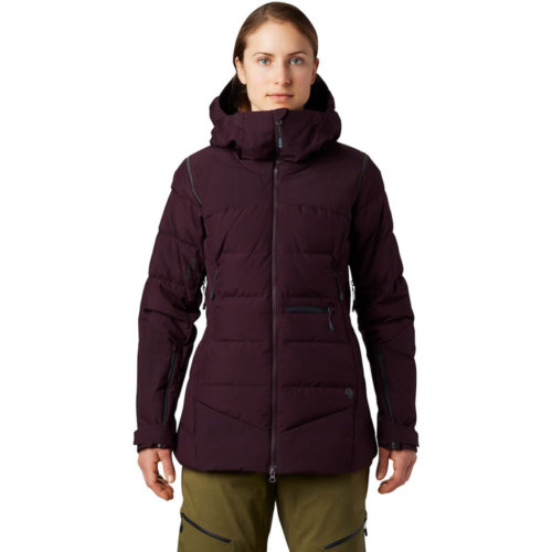 Mouse over to zoom an area or click here for Hi-Res image of Mountain Hardwear Direct North Gore-Tex Infinium Down Jacket Women's Closeout