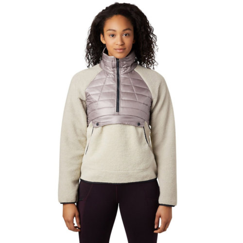 Mouse over to zoom an area or click here for Hi-Res image of Mountain Hardwear Altius Hybrid Pullover Women's Closeout