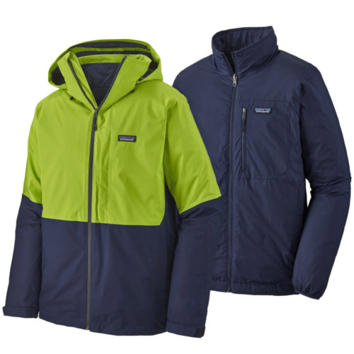Mouse over to zoom an area or click here for Hi-Res image of Patagonia 3-in-1 Snowshot Jacket Men's Closeout