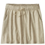 Patagonia Island Hemp Beach Skirt Womens Closeout