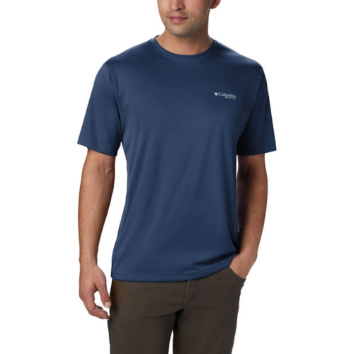 Mouse over to zoom an area or click here for Hi-Res image of Columbia PFG Zero Rules Short Sleeve Shirt Mens