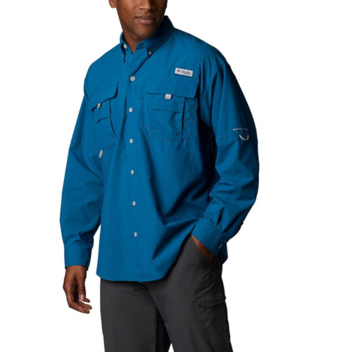 Mouse over to zoom an area or click here for Hi-Res image of Columbia Bahama II Long Sleeve Shirt Mens