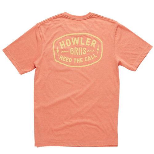 Mouse over to zoom an area or click here for Hi-Res image of Howler Bros Painted Howler Tee Shirt Men's