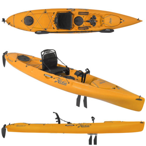 Mouse over to zoom an area or click here for Hi-Res image of Hobie Mirage Revolution 13 Kayak 2020