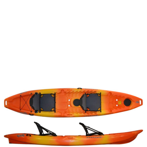 Mouse over to zoom an area or click here for Hi-Res image of Native Watercraft Stingray 13.5 Tandem Kayak 2020