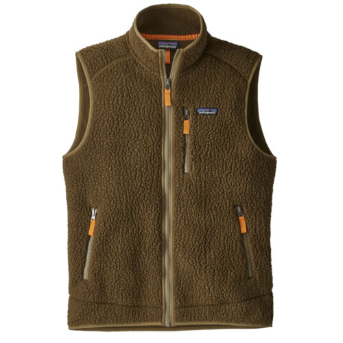 Patagonia Retro Pile Fleece Vest Mens Closeout