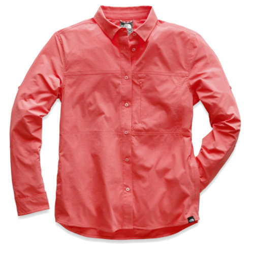Mouse over to zoom an area or click here for Hi-Res image of The North Face Boreaz Long Sleeve Roll Up Shirt Women's Closeout