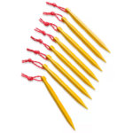 The North Face J-Stake M (8-Pack) Tent Stakes