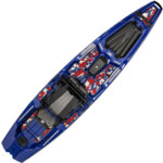 Bonafide Kayaks SS127 Fishing Kayak Patriot Limited Edition