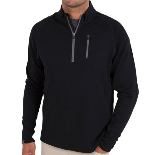 Mouse over to zoom an area or click here for Hi-Res image of Free Fly Bamboo Fleece Quarter Zip Men's