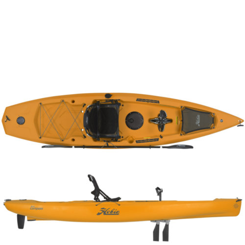 Mouse over to zoom an area or click here for Hi-Res image of Hobie Mirage Compass Kayak 2020