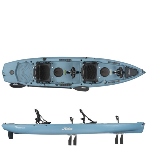 Mouse over to zoom an area or click here for Hi-Res image of Hobie Mirage Compass Duo Tandem Kayak 2020
