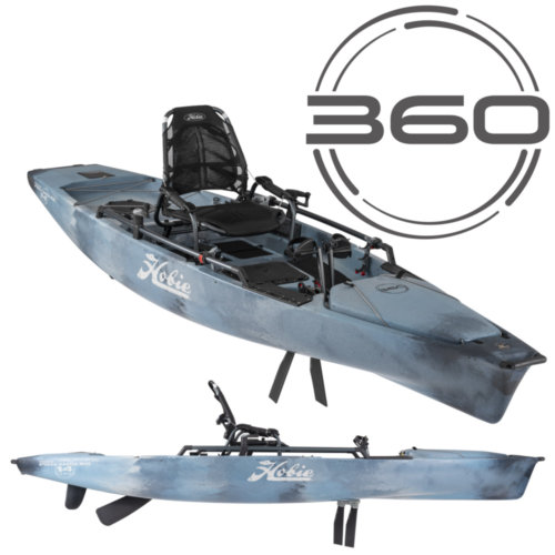 Mouse over to zoom an area or click here for Hi-Res image of Hobie Mirage Pro Angler 14 360 Kayak 2020