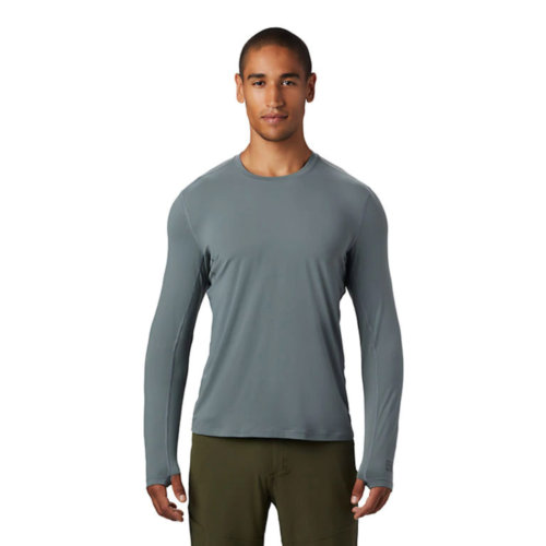 Mouse over to zoom an area or click here for Hi-Res image of Mountain Hardwear Crater Lake Long Sleeve Tee Shirt Men's