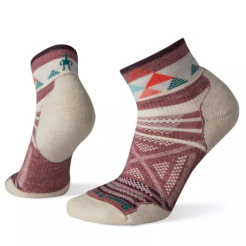 Mouse over to zoom an area or click here for Hi-Res image of Smartwool PhD Outdoor Pattern Mini Hiking Socks Women's