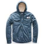 The North Face Sherpa Patrol Snap-Up Hoodie Men's Closeout