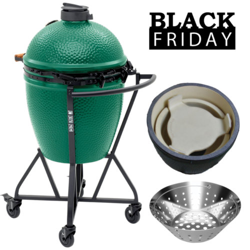 Mouse over to zoom an area or click here for Hi-Res image of Big Green Egg Black Friday Large Egg Combo