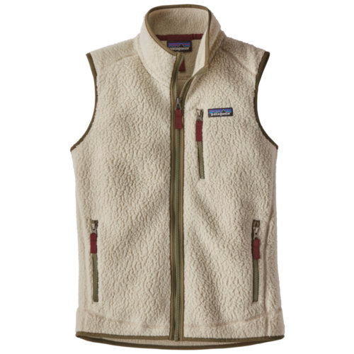 Mouse over to zoom an area or click here for Hi-Res image of Patagonia Retro Pile Fleece Vest Womens Closeout