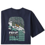 Patagonia Fed Up With Melt Down Responsibili-Tee Mens Closeout