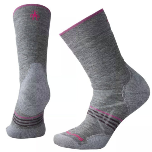 Mouse over to zoom an area or click here for Hi-Res image of Smartwool PhD Outdoor Medium Hiking Crew Socks Women's