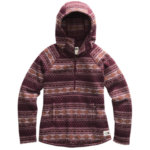 The North Face Printed Crescent Hooded Pullover Women's Closeout
