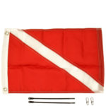 YakAttack Diver Down 12'' x 18'' Flag Kit