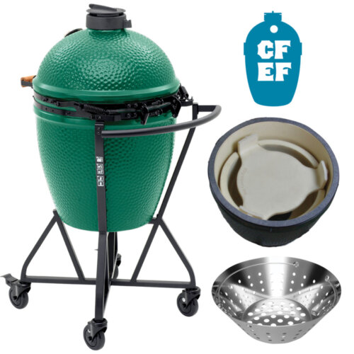 Mouse over to zoom an area or click here for Hi-Res image of Big Green Egg Memorial Day Package Special