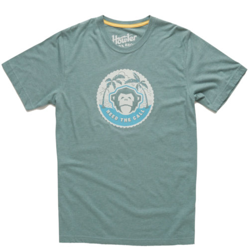 Mouse over to zoom an area or click here for Hi-Res image of Howler Bros Mono Medallion Tee Shirt Men's