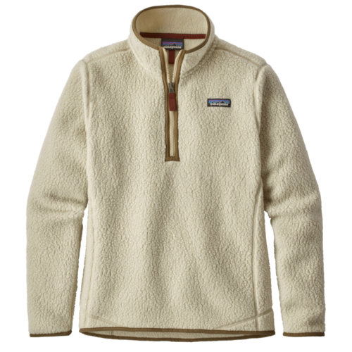 Mouse over to zoom an area or click here for Hi-Res image of Patagonia Retro Pile 1/4 Zip  Women's Closeout
