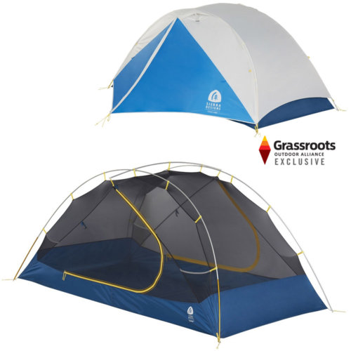 Mouse over to zoom an area or click here for Hi-Res image of Sierra Designs Clearwing 2 Person Tent