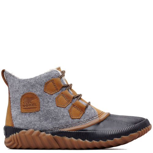Mouse over to zoom an area or click here for Hi-Res image of Sorel Out N About Plus Felt Boots Women's Closeout