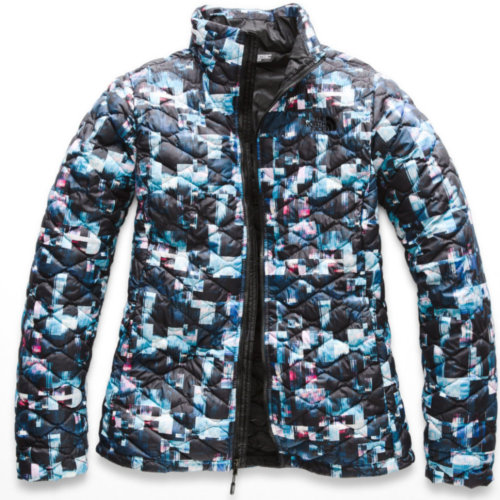Mouse over to zoom an area or click here for Hi-Res image of The North Face Thermoball Full Zip Jacket Womens Closeout