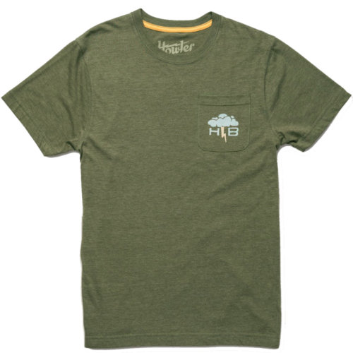 Mouse over to zoom an area or click here for Hi-Res image of Howler Bros Dark & Stormy Pocket Tee Shirt Men's