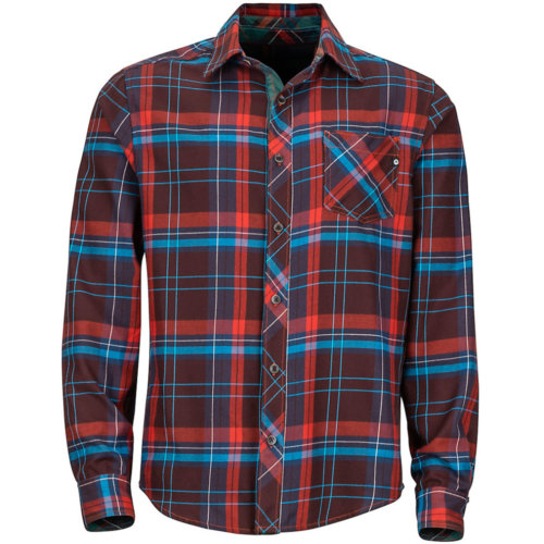Mouse over to zoom an area or click here for Hi-Res image of Marmot Anderson Lightweight Flannel Long Sleeve Shirt Men's Closeout