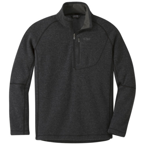 Mouse over to zoom an area or click here for Hi-Res image of Outdoor Research Vashon Fleece Qtr Zip Jacket Men's Closeout