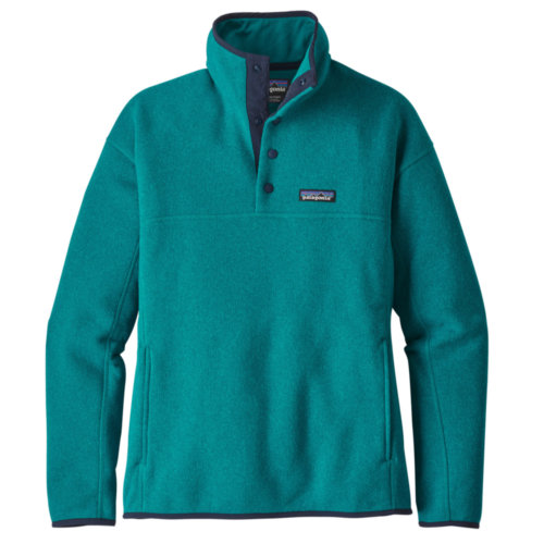 Mouse over to zoom an area or click here for Hi-Res image of Patagonia Lightweight Better Sweater Marsupial Fleece Pullover Womens Closeout