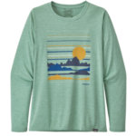 Patagonia Capilene Cool Daily Graphic Shirt Long Sleeve Women's