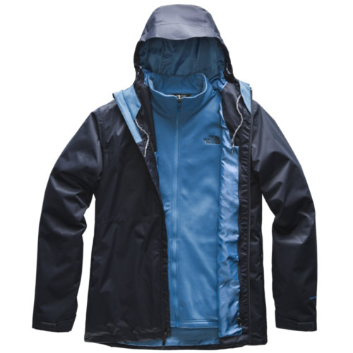 Mouse over to zoom an area or click here for Hi-Res image of The North Face Arrowood Triclimate Tall Jacket Mens Closeout
