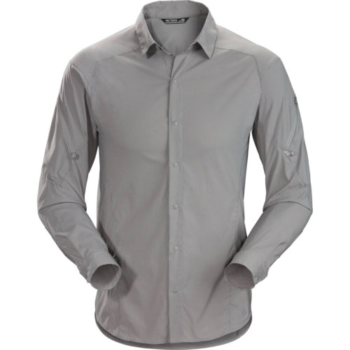 Mouse over to zoom an area or click here for Hi-Res image of Arc'Teryx Elaho Long Sleeve Shirt Men's