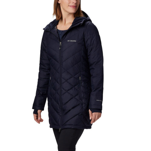 Mouse over to zoom an area or click here for Hi-Res image of Columbia Heavenly Long Hooded Jacket Women's